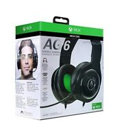PDP Afterglow AG 6 Xbox One Wired Gaming Headset (048-103-NA-BK) - NEW™