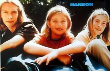 """Hanson """"Young Shot Of The Brothers Next To Each Other"""" Poster From Asia"""