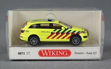 WIKING 007117/ 0071 17 (H0, 1:87) Notarzt Audi Q7 AMBULANCE Niederlande - NEU!