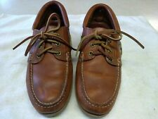 Vintage Timberland Mens  Classic Handsewn Shoes Brown Leather 9 1/2 M