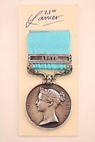BRITISH ARMY OF INDIA GENERAL SERVICE MEDAL ASSYE BAR HEIC EAST INDIA COMPANY