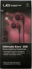 Ultimate Ears by Logitech UE 200  In-Ear Earphones Purple *New/AUS Stock*