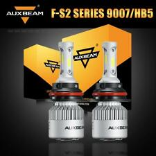 AUXBEAM 9007 HB5 72W 8000LM LED Headlight Bulbs High Low Beam Turbo HID Bright