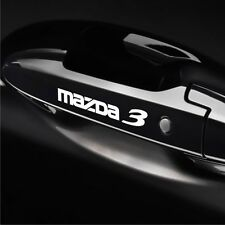 5pcs Mazda 3 Door Handle Wheel sticker decal