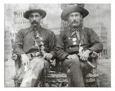 "1894 Dodge City Sheriff WESTERN, Photo, gon COLT CHALK BEESON, 14""x11"""