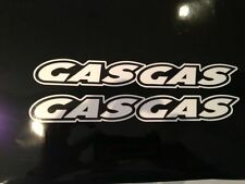 Gas Gas trial bike/Motorbike decals/stickers x2 in set