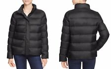 Peuterey Gosparina Short Down Women's Jacket Black 42 Small NWT MSRP $495