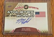 2010 Upper Deck World of Sports  AUTOGRAPH  Mike Swick  UFC  MMA