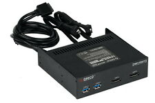 """ORICO 5.25"""" Front Panel Hub with Dual eSATA & 2 USB 3.0 Ports to 20Pin Connector"""
