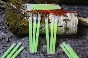 5 x ULTRA BRIGHT ARMY NATO GLOWSTICKS - Survival Camping Bushcraft Glow sticks