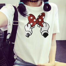 Fashion Embroidered Sequins Red Lips Angel Wings Clothes Patch DIY T-Shirt NEW