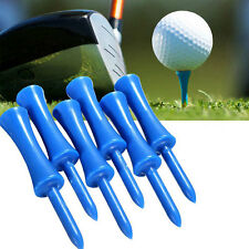 50pcs Plastic Step Down Castle Golf Tees Height Control Blue 68mm/2.68inch Hot