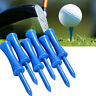 50pcs Plastic Step Down Castle Golf Tees Height Control Blue 68mm/2.68inch W7U2