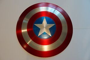 Captain America Shield - Movie Quality - Full Size - Spun Aluminum