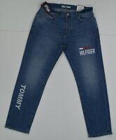 NWT MEN'S Tommy Hilfiger Denim Stretch Slim (Etroite)  Distressed Jeans