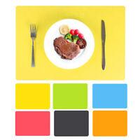 Eg _ 40x30cm Silicone Anti-dérapant Table Tapis Plat Bol Chaleur Résistant Pad
