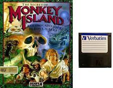 "MONKEY ISLAND : floppy disc 3,5"" Commodore Amiga backup game disk (READ)"