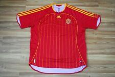 SIZE XXL SPAIN NATIONAL TEAM 2005/2006/2007 HOME FOOTBALL SHIRT JERSEY CAMISETA