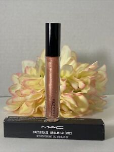 MAC DAZZLEGLASS PRANCIN' DANCIN' (PINK BRONZE) LIPGLASS NIB Authentic Free Ship