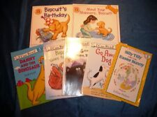 Lot of 7 Books 5 I Can Read Books and 2 Biscuit The Little Yellow Puppy Books