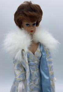 OOAK Vintage Brownette Bubblecut Barbie With Ooak European Exclusive Gala Abend