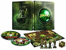 Jumanji: Bienvenido a La Selva Steelbook Blu Ray + Jumanji Película + Tabla