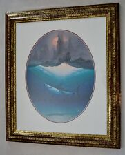 WYLAND AUMAKUA AND THE ANCIENT VOYAGERS LITHOGRAPH SIGNED FRAMED W/COA #578/950