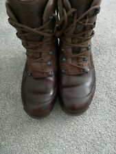 BRITISH ARMY HAIX BOOTS - EXCELLENT CONDITION SIZE UK 7 M - GORE-TEX - BROWN