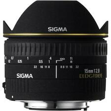 SIGMA 15MM F2.8 DG DIAGONAL Fisheye Lens per Canon EOS (UK Stock) nuovo con scatola