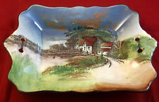 Royal Doulton English Cottages Evening Afternoon Tea Cake Tray D4390