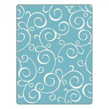 Sizzix Swirls #4 Embossing folder #661361 Retail $4.99 by Stephanie Barnard