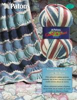 Patons Knit & Save Afghan #1145 2 Afghans to Knit & Crochet in English & French