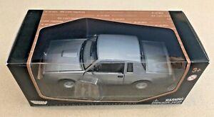 MotorMax 1987 Buick Regal Turbo T - 1:24 - Grey - NIB/Unopened