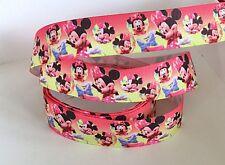 Yard Disney Minnie Mouse Arcos Bonito Cinta del Grosgrain Chicas Personaje #46