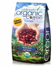 5LB Cafe Don Pablo Subtle Earth Organic Gourmet Coffee - Light Roast - Whole