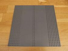 LEGO 32 x 32 Dark Bluish Grey Baseboard Plate Double Driveway 30225c01 32x32