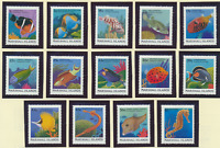 Marshall Islands Stamps Scott #168 To 183, Mint Never Hinged, Short Set