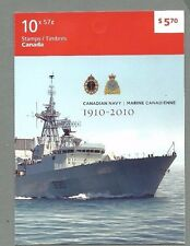 CANADA 2010 Booklet  - CANADIAN NAVY  (10 x 57c) - Complete MNH