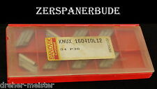 8 Wendeplatten KNUX 160410L12 S4 P30  SANDVIK Neu
