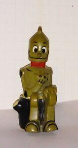 Marx Wizard of Oz wind up Tin Man on a stump vintage 1960s works fine
