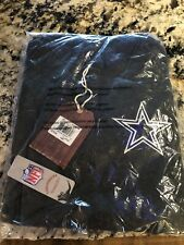 Mitchell & Ness NFL Dallas Cowboys Long Sleeve Hooded Button Shirt Men's L/XL