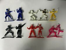 "Bandai Mighty Morphin Power Rangers and Ninjas Lot of 11 2.5"" Figures"