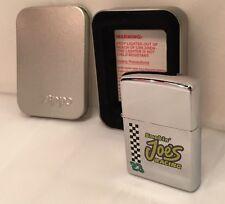 Zippo Lighter Sealed Smokin' Joe's Racing #23 Chrome G 1997 250SJ 323
