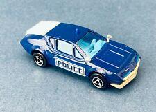 MAJORETTE N°264 RENAULT Alpine A 310 POLICE Autoroute 1/55 Serie 200 France