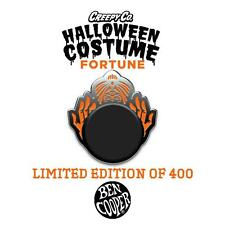 BEN COOPER HALLOWEEN COSTUME FORTUNE TELLER ENAMEL PIN BY CREEPY CO.