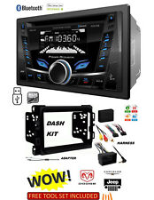 2013-2017 DODGE RAM CAR STEREO KIT, BLUETOOTH USB MP3 AUX