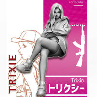 1/35 Trixie Girls in Action Resin Model Kits Unpainted GK Unassembled