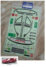 Vintage RC Kyosho 1/8 Super Eight Altia Skyline GT-R Decals OEM 39983-1 LandMax
