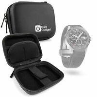 Hard Black 'Clam' Style EVA Case for Tag Heuer Connected Smartwatch