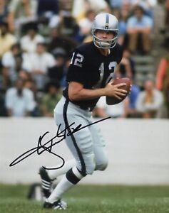 Ken Stabler Autographed Signed 8x10 Photo ( HOF Raiders ) REPRINT